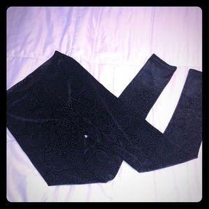 Pants - Sexy Velvet Leggings- NWOT